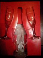 Отдается в дар бокалы для шампанского
