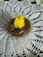 Отдается в дар Сувенир «Цыпленок в гнезде»