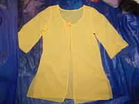 Отдается в дар Желтая накидка