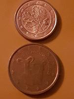 Отдается в дар Монеты Евроценты