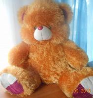 Отдается в дар Большой мягкий медведь.
