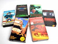 Отдается в дар Видеокассеты с видеофильмами на магнитной пленке VHS