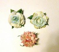 Отдается в дар 3 цветочка из фоамирана