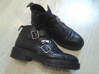 Отдается в дар Ботинки черные