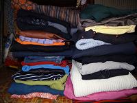 Отдается в дар Пакет женских вещей 44-46-48 платья, юбки, болеро, блузки