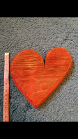 Отдается в дар «Открытка» деревянное сердце