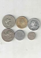 Отдается в дар Монетки иностранные