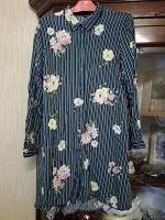 Отдается в дар Платье-рубашка примерно 52 размера
