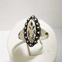 Отдается в дар Винтажное кольцо, посеребрение