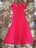Отдается в дар Красное платье размер 44-46