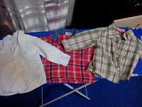 Отдается в дар Рубашечки на малыша полгода и комбезик