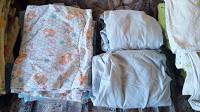 Отдается в дар Для детской кроватки: пеленки и постельное белье