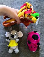 Отдается в дар Новые игрушки с присосками