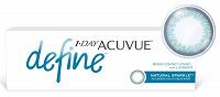Отдается в дар Контактные линзы 1 Day Acuvue Define.
