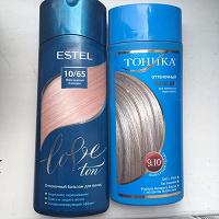 Отдается в дар Оттеночные бальзамы для седых, очень осветленных или серых волос