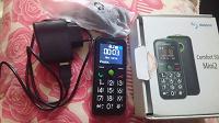 Отдается в дар Сотовый телефон с большими кнопками для пожилых людей
