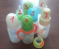 Отдается в дар Детские бутылочки и ниблеры