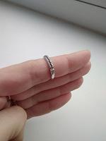 Отдается в дар Кольцо серебро 925 проба