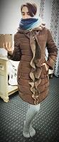 Отдается в дар Зимнее пальто 44-46 размер
