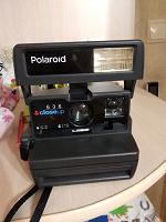 Отдается в дар Фотоаппарат Полароид без пленки