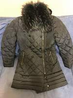 Отдается в дар Куртка зимняя 46размер