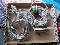 Отдается в дар Ethernet кабель и плата в ПК