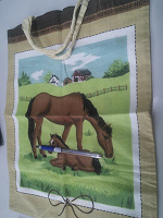 Отдается в дар Тканевая сумочка-мешочек с ручками.