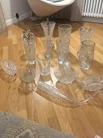 Отдается в дар Хрусталь, в основном вазы