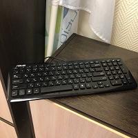 Отдается в дар Клавиатура ASUS (работает не вся)