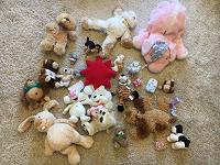 Отдается в дар игрушки мягкие