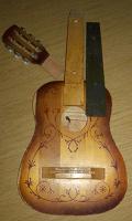 Отдается в дар гитара.ремонт.