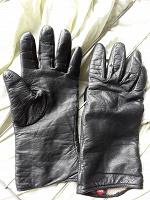 Отдается в дар Перчатки женские кожаные на очень маленькую руку