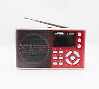 Отдается в дар Портативный радиоприёмник FM, USB, MicroSD