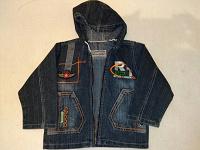 Отдается в дар курточка джинса