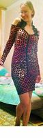 Отдается в дар Вечернее праздничное платье 40-42 российский размер