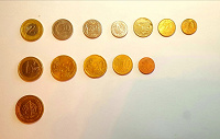 Отдается в дар Монеты Турции, ЕС, Польши