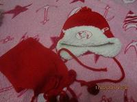 Отдается в дар шапка детская+ шарфик