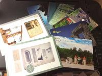 Отдается в дар Чистые открытки для посткроссинга