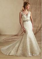 Отдается в дар Новое свадебное платье