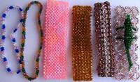 Отдается в дар фенечки браслеты, кольцо, из бисера, закладка, на резинку