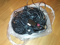 Отдается в дар Разные зарядки для старых телефонов и не только