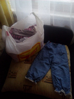 Отдается в дар Пакет одежды на девочку