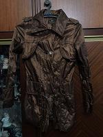 Отдается в дар Куртка коричневая 42 р-ра