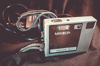 Отдается в дар Компактный фотоаппарат Minolta DiMAGE X