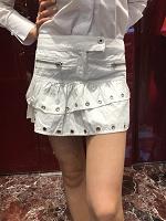 Отдается в дар Белая юбка хлопок S