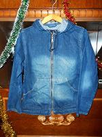 Отдается в дар Джинсовый пиджак