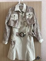 Отдается в дар Платье двойка с пиджаком
