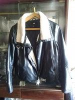 Отдается в дар Кожаная куртка H&M 10 размер