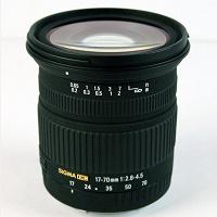 Отдается в дар Объектив Sigma 17-70mm f/2.8-4.5 DC for Canon EOS