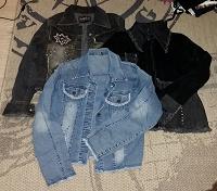 Отдается в дар Куртки джинсовые женские